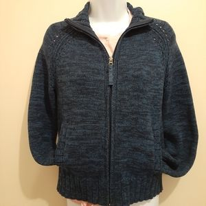 3 for $25-Eddie Bauer Blue Knit Sweater Size Small